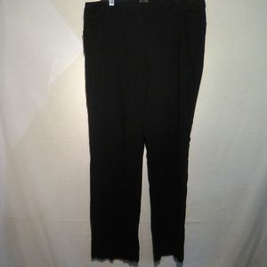 George black dress pant. 16P #216